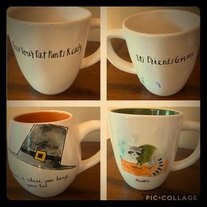 Rae Dunn Fall Mugs